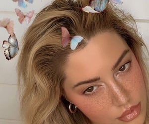 butterflies, girl, and aesthetic image
