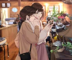 anime, art, and friendship image