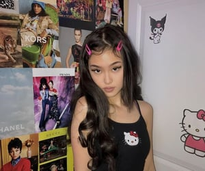 asian, asian girl, and edgy image