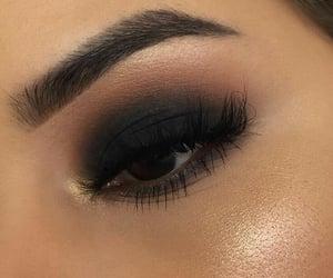 art, eyeliner, and lashes image