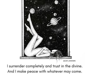 quote, divination, and spiritual image