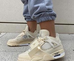 air jordan, off white, and sneakers image