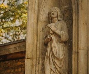 angel, statue, and cozy image
