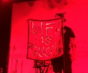 concert, life, and red image