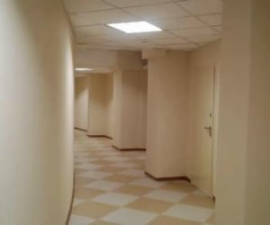 hallway, backrooms, and liminal image