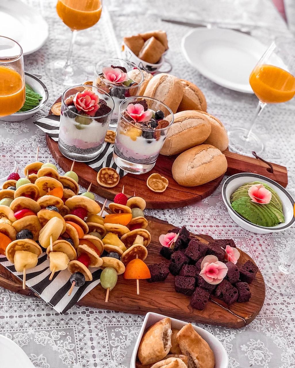 avocado, breakfast, and flowers image