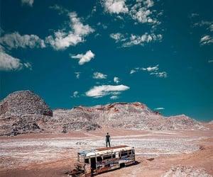atacama, bus, and scenery image