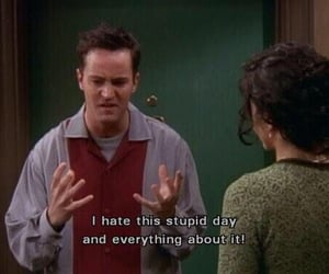 friends, quotes, and chandler bing image