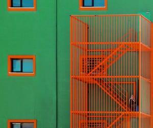 green and orange image