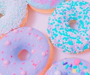 pastel, donuts, and wallpaper image