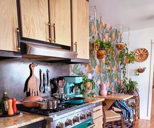 aesthetic, colors, and kitchen image