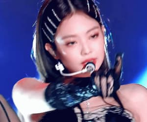jennie, gif, and icons image