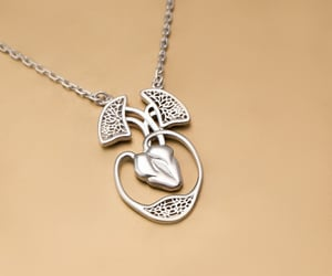 anatomical, heart, and necklace image