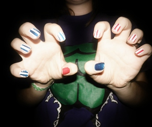 cool, nails, and hipster image