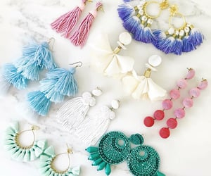 accessories, fringe, and summery image