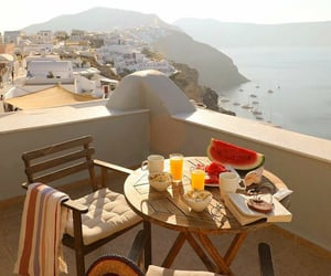 breakfast, holiday, and places image