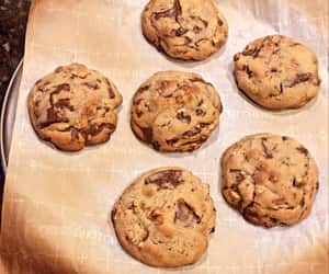 cake, chocolate, and Cookies image