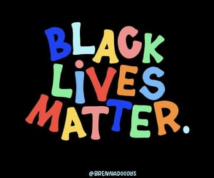 protest, black lives matter, and rights image