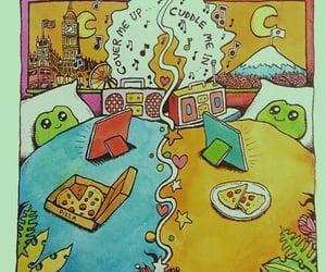 background, cartoon, and edsheeran image