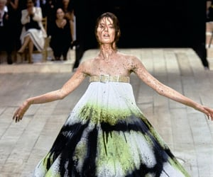 Alexander McQueen, futurism, and haute couture image