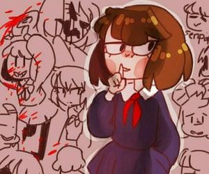 school, chara, and au image
