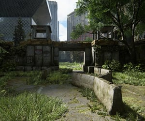 abandoned, city, and checkpoint image