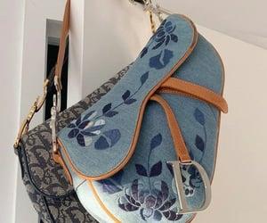 bag, brand, and handbag image