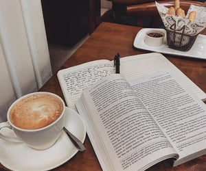 caffeine, college, and more coffee image