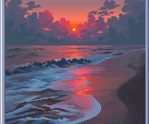 art, illustration, and pixel art image