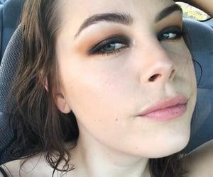 alternative, blueeyes, and eyeshadow image