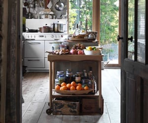 kitchen and summer image