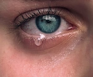 blue, broken, and crying image