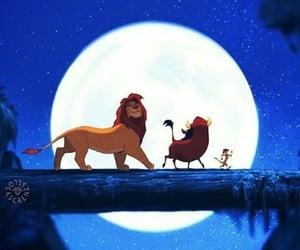 blue, lion king, and hakuna matata image