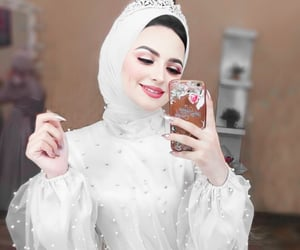 dress, dresses, and muslim image