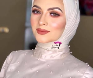 dress, fashion, and hijab fashion image
