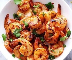 food, shrimp, and camarones image