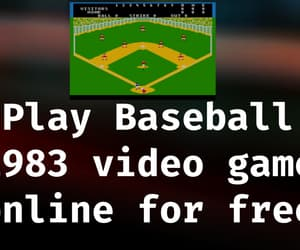 article, baseball, and video game image