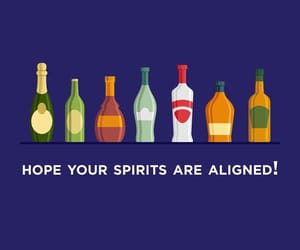 alcohol, rum, and vodka image