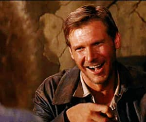 actor, harrison ford, and gif image