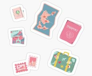 fashion, map, and sticker image