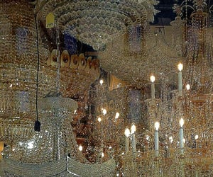 chandelier and aesthetic image