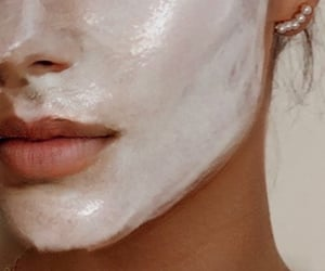 aesthetics, face, and face mask image