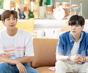 jung hoseok, kim seokjin, and bts image