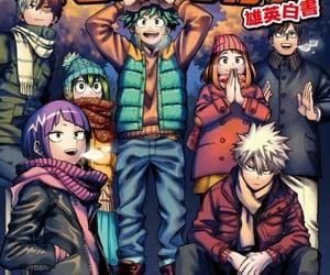 anime, manga, and mha image