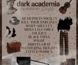 academia, dead poets society, and dorian gray image