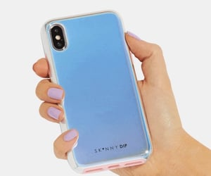 case, iphone, and holo image