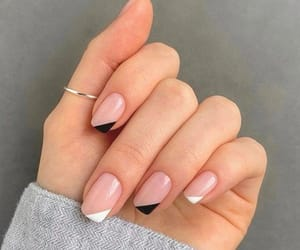 nails, fashion, and nail polish image