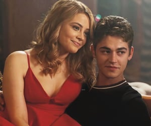 hero fiennes tiffin, josephine langford, and book image