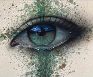 melancholy, art, and eye image