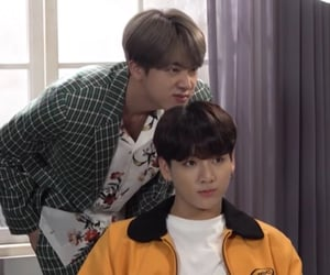 jin, soft, and bts image